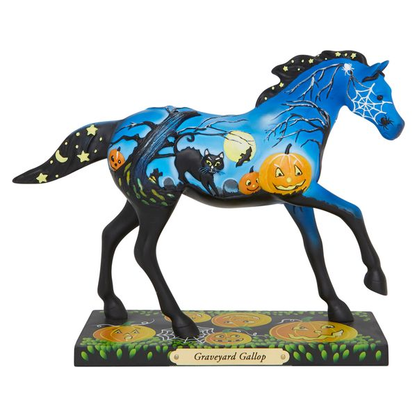 THE TRAIL OF THE PAINTED PONIES GRAVEYARD GALLOP FIGURINE 6007467