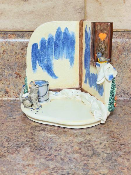 Goebel M.I. Hummel Hummelscape Painting Pals Base 818172