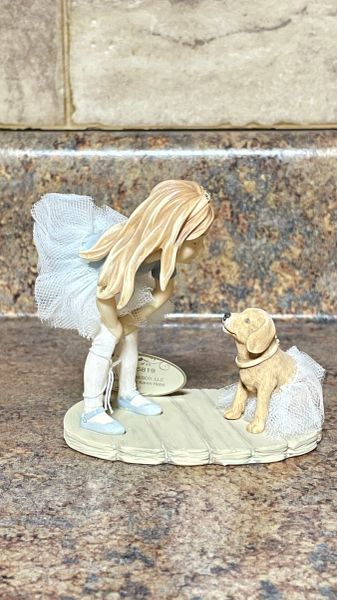 Foundations Ballerina with Dog Collectible Figurine 4025819