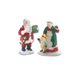 Department 56 Santa & Mrs. Claus 56.56090