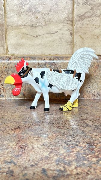 Cow Parade Cow-Moo-Flage Collectible Figurine 47794
