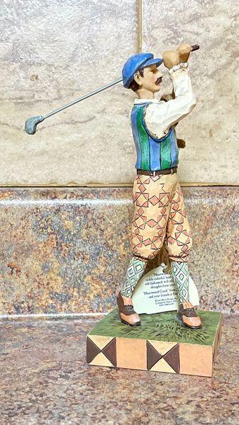 Jim Shore Heartwood Creek Time For Tee - Golfer 4026886