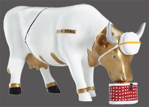 Cow Parade The Page Collectible Figurine 47865
