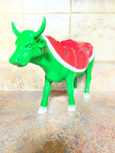 Cow Parade Watermelon Cow (Large) 46461