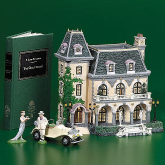 Department 56 The Great Gatsby West Egg Mansion 56.58939