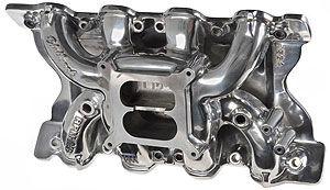 Edelbrock RPM Air-Gap 351c Ford Intake Manifold Polished 75641