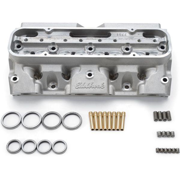 Edelbrock Pro-Port Raw Victor Cylinder Head for Pontiac V8 77849
