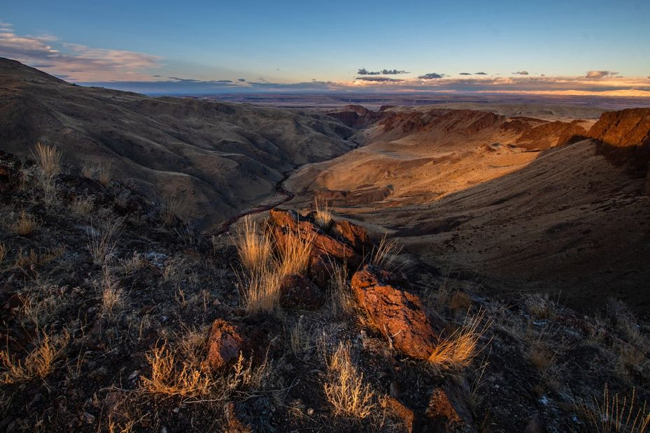 Beautiful western scenes of the Owyhee Mountains, Southern Idaho by david wuerth