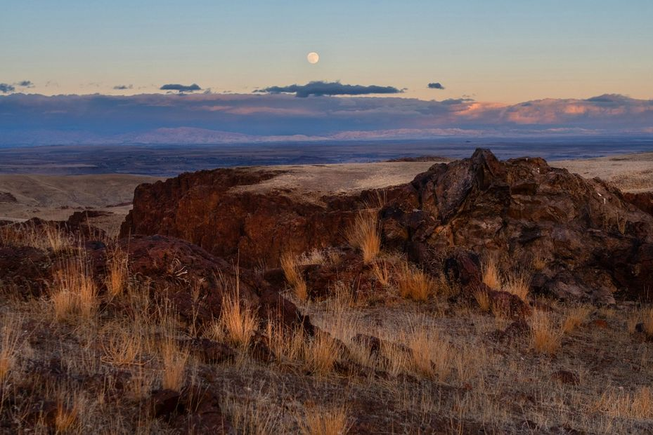 Beautiful western scenes of the Owyhee Mountains, Southern Idaho