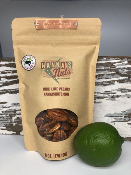 Chili Lime Pecans