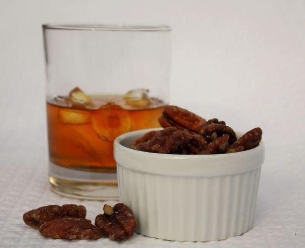 Bourbon & Bacon Pecans