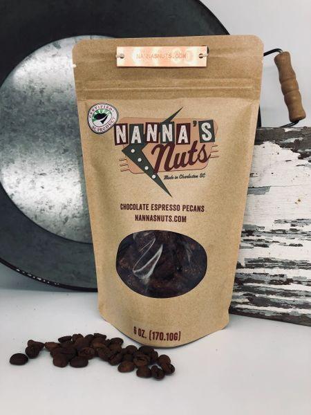 Chocolate Espresso Pecans