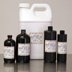 ORGANIC HEMP OIL, cold pressed, raw 16 OZ