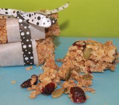 Fruity Nutty Granola Bars ~Yummy!