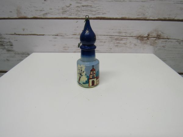 Hand Painted Russian Ornament