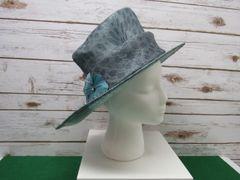 Blue Dress Hat