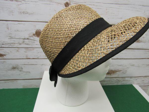 Straw Visor Hat