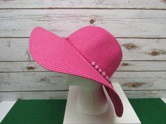 Pink loth Floppy Hat
