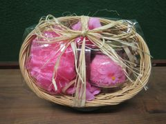 Plumaria Bath Basket