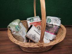 Starbucks Basket