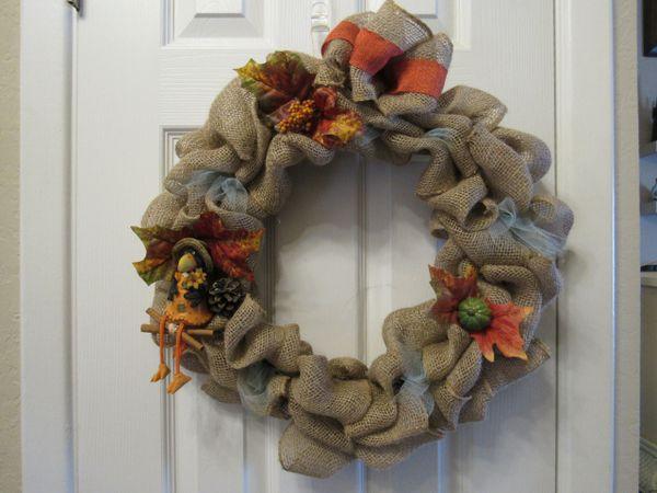 Wreath - Fall Crow