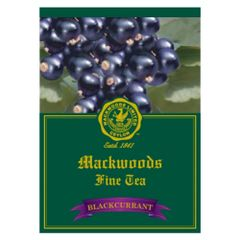 MACKWOODS BLACKCURRANT FLAVOURED 25 ENVELOPED TEA BAGS