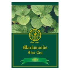 MACKWOODS MINT FLAVOURED 25 ENVELOPED TEA BAGS