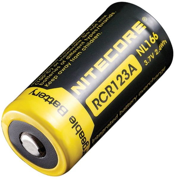 NITECORE RCR123 (Rechargeable CR123 battery)