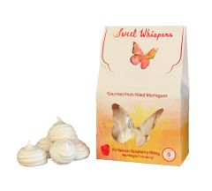 Sweet Whispers Meringues with Raspberry Filling