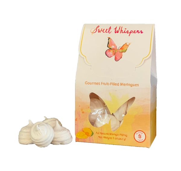 Sweet Whispers Meringues with Mango Filling