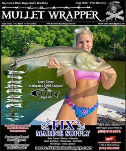Lee County Nautical Mile Mullet Wrapper