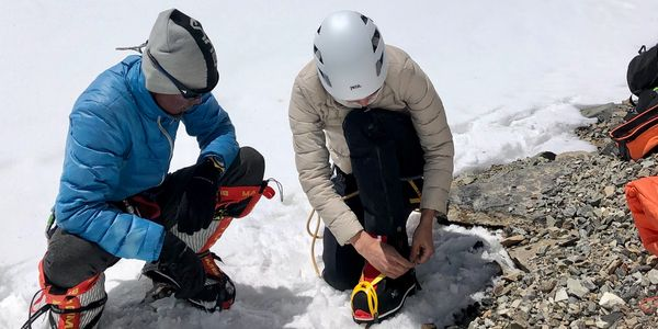Mountaineering, crampons, camping, climbing, ropes, hiking, backpacking