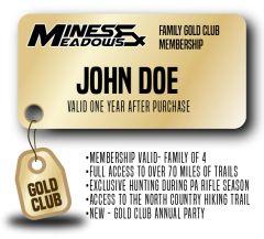 Mines & Meadows Family Gold Club Membership