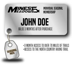 Individual Seasonal 3 Month Pass