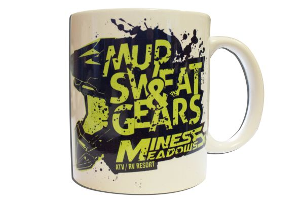 Mud Sweat and Gears 8oz Mug