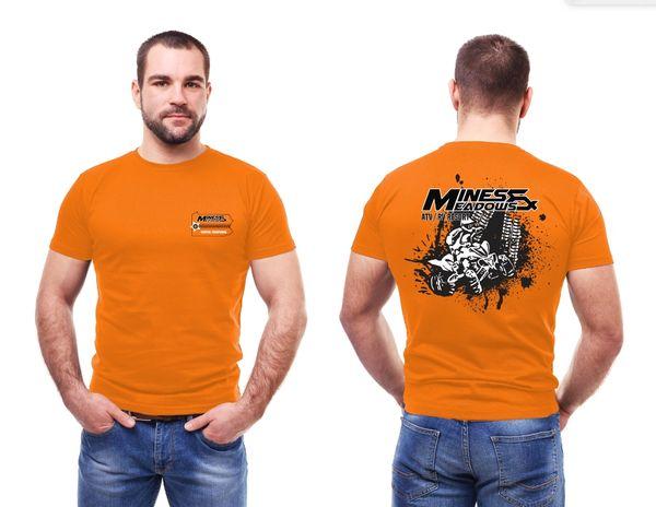 CLOSEOUT SALE M&M Quad Shirt - Orange