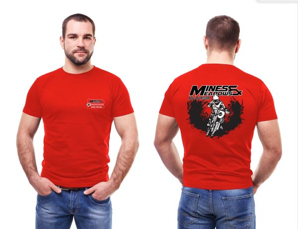 CLOSEOUT SALE M&M Dirt Bike Shirt - Red