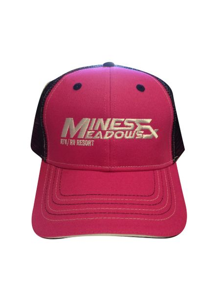 Mines and Meadows Adjustable Hat - Pink