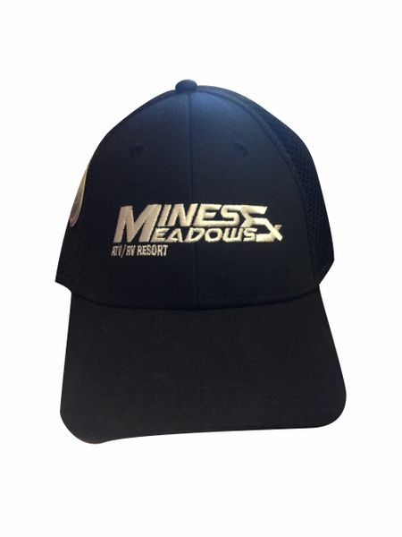 Mines and Meadows Fitted Hat - Black