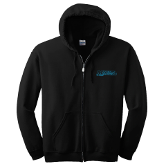 NEW 2018 - Mines & Meadows Black SXS Zip-Up Hoodie