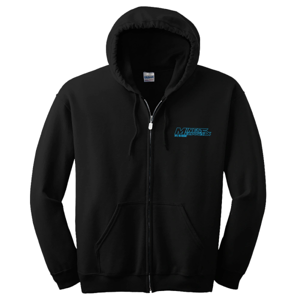 Mines & Meadows Black SXS Zip-Up Hoodie
