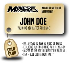 Mines & Meadows Individual Gold Club Membership