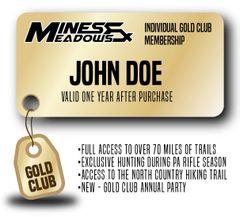 Mines & Meadows Individual Gold Club Membership