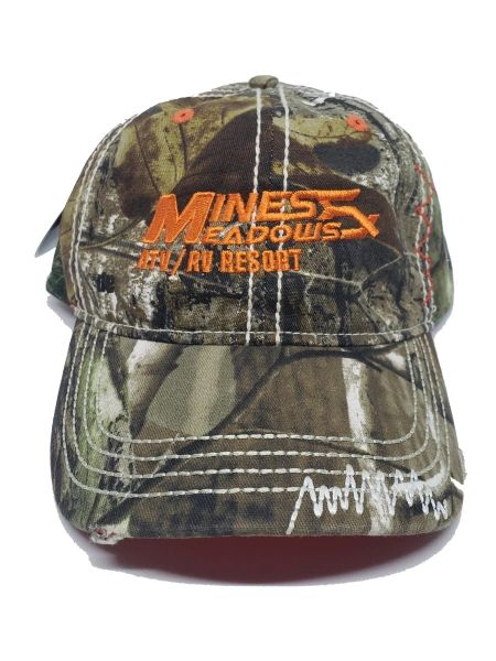 Mines and Meadows Adjustable Hat - Camo