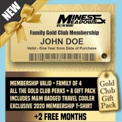 HOLIDAY SALE - Mines & Meadows Family Gold Membership GIFT PACK