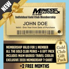HOLIDAY SALE - Mines & Meadows Individual Gold Membership GIFT PACK