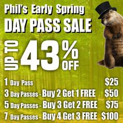 7 Day Pass Gift Certificates (43% OFF)