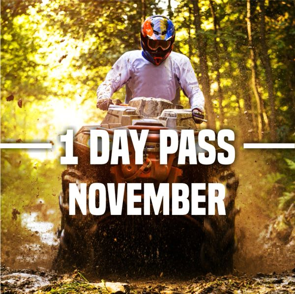 11 Mines & Meadows November Single Day Pass