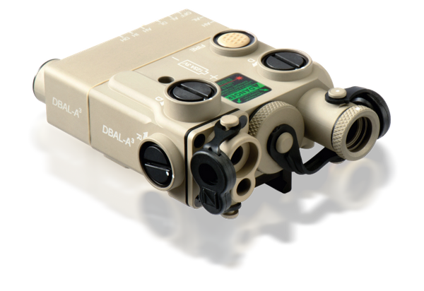 Laser DBAL-A3 1//6 Scale Toy PEQ Black