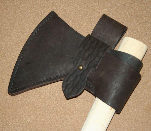 Leather Tomahawk Sheath